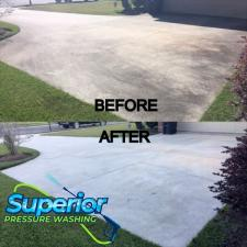 Superior pressure washing driveway cleaning 2