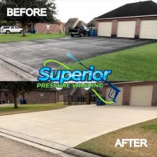 Superior pressure washing driveway cleaning