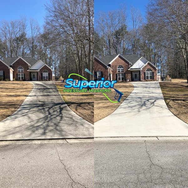 Driveway cleaning in lithia springs ga
